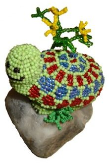 Beaded Turtle Inset
