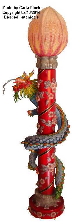 Beaded Chinese Dragon