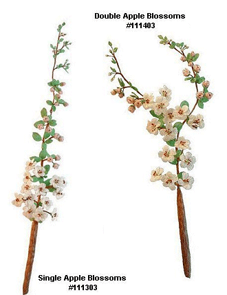 Apple Blossom Branches